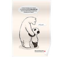 Beary Romantic Poster