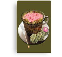 。◕‿◕。 ORGANIC FLOWERING TEA 。◕‿◕。  Canvas Print