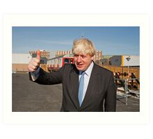 Boris Johnson Art Print