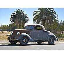 1936 Ford Coupe  Photographic Print