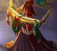 Silent Night Sona by LucePrice