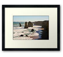 Twelve Apostles - Great Ocean Road, Victoria - Australia Framed Print
