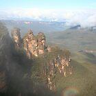 The Three Sisters, Blue Mountains - Australia by Nicola Barnard