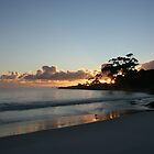 Binalong Bay Sunrise, Tasmania - Australia by Nicola Barnard