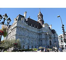 Montreal City Hall Photographic Print