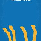 No230 My Animal House minimal movie poster by Chungkong