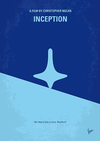 No240 My Inception minimal movie poster by Chungkong