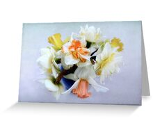 Spring Daffodil Bouquet Greeting Card