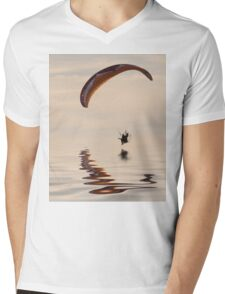 Powered paraglider Mens V-Neck T-Shirt