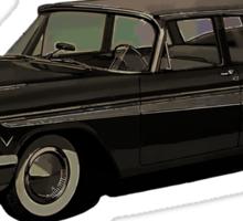 1957 Plymouth Belvedere Sport Suburban Sticker