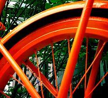 Red Bike by amaeye