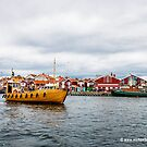 Lyseskil Harbour Sweden by Michael Brewer