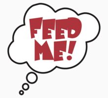 Pregnancy Message from Baby - FEED ME! by Bubble-Tees.com by Bubble-Tees