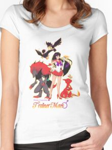 Pretty Guardian Trainer Mars Women's Fitted Scoop T-Shirt