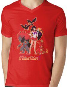 Pretty Guardian Trainer Mars Mens V-Neck T-Shirt
