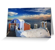 A Greek concept of beauty Greeting Card