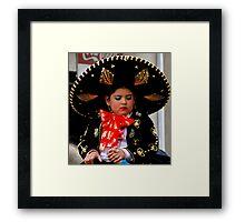 Cuenca Kids 356 Framed Print