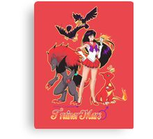 Pretty Guardian Trainer Mars Canvas Print