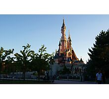Disneyland Paris Photographic Print