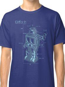 Robot Blueprint Classic T-Shirt