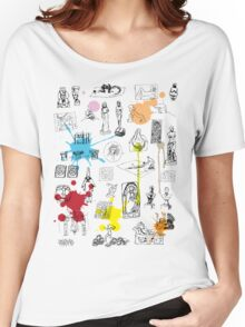 History of Art (w/ paint splashes) Women's Relaxed Fit T-Shirt