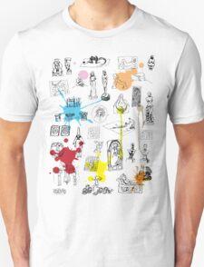 History of Art (w/ paint splashes) T-Shirt