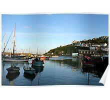 Mevagissey, Cornwall - UK Poster