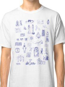 History of Art (blue artlines) Classic T-Shirt