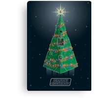 Season's Geekings - Star Destroyer Canvas Print
