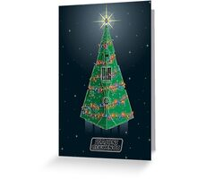 Season's Geekings - Star Destroyer Greeting Card