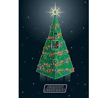 Season's Geekings - Star Destroyer Photographic Print