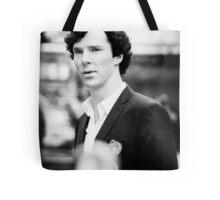 Cumberbatch B&W Tote Bag