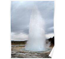Strokkur Eruption - Iceland Poster