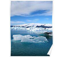 Jokulsarlon Lagoon - Iceland Poster