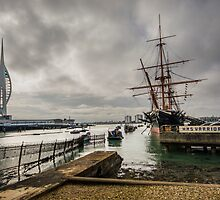 HMS Warrior by Paul Woloschuk