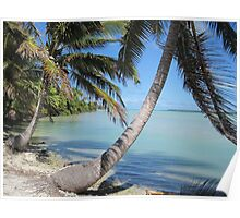 Aitutaki Cove - Cook Islands Poster