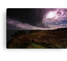Tornado Sky - Pembrokeshire Canvas Print