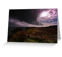 Tornado Sky - Pembrokeshire Greeting Card