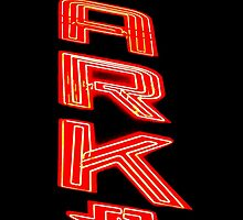 Neon Sign at Night by James Aiken