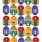 Christmas jumpers by Rebecca Wallace