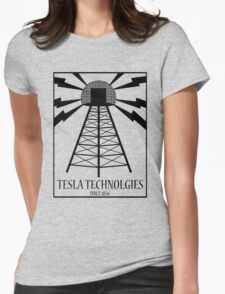Tesla Technologies Womens Fitted T-Shirt