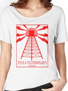 Tesla Technologies Women's Relaxed Fit T-Shirt