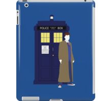 Ten and the TARDIS iPad Case/Skin