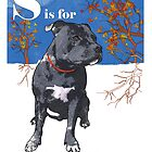S is for Staffie by Ludwig Wagner