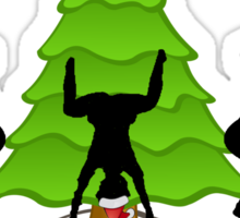 Twerk'n around the Christmas tree Sticker
