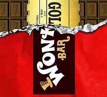 Willy wonka Bar phone case by viperbarratt