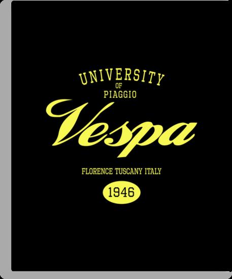 VESPA UNIVERSITY by madeofthoughts