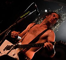 Airbourne - Joel O'Keeffe by downthebarrel