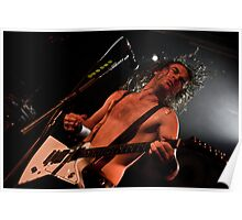 Airbourne - Joel O'Keeffe Poster