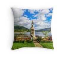 Inveraray War Memorial  Throw Pillow